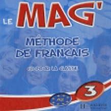 Le Mag': Niveau 3 CD Audio Classe (X2)