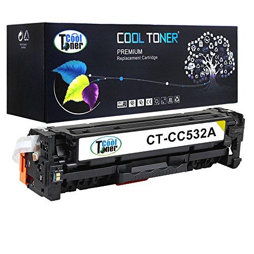 Cool Toner kompatibel toner fuer CC532A 304A Tonerkartusche replacement fuer HP Color...