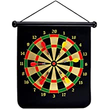 Popsugar Magnetic Darts Target with 6 Darts