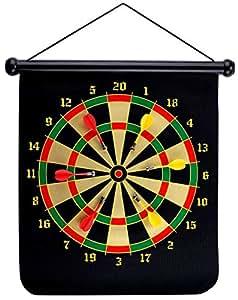 Popsugar Magnetic Darts Target with 6 Darts