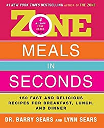 Zone Meals in Seconds: 150 Fast and Delicious Recipes for Breakfast, Lunch, and Dinner (The Zone) by Barry Sears (2003-12-23)