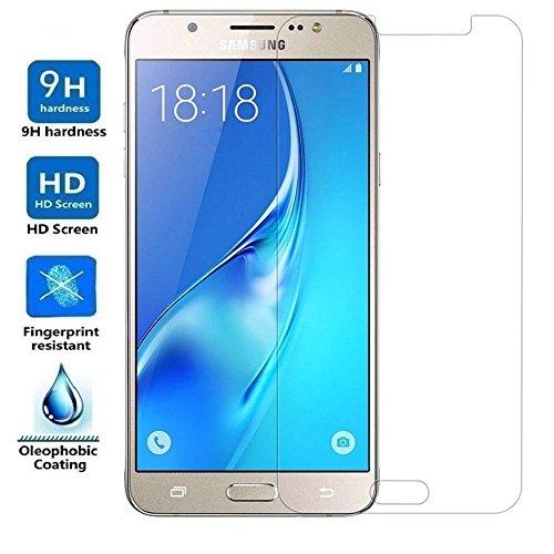 Electrónica Rey Protector de Pantalla para Samsung Galaxy J7 2016 Cristal Vidrio Templado Premium