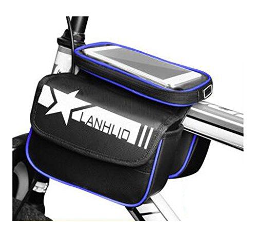 Bike Bag Bunte Fahrrad Lenker Pakete für 6 Zoll Telefon Multi-Funktions-Fahrrad-Zubehör#15