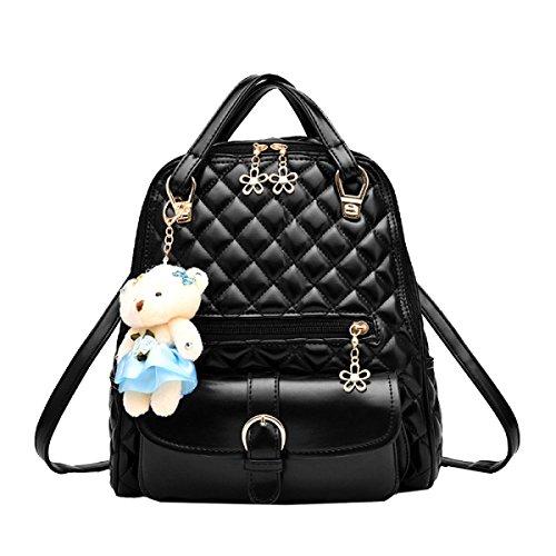 Borsa A Tracolla Yy.f Zaino Femminile New Wave I Nuovi Sacchetti Di Scuola Borse Moda Portano Air Bag Multicolore Black