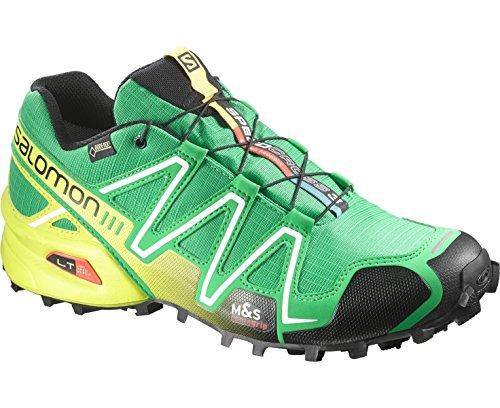Salomon Speedcross 3 Gtx, Salomon Speedcross 3 GTX Dark Khaki Black Iguana Green 43 homme green