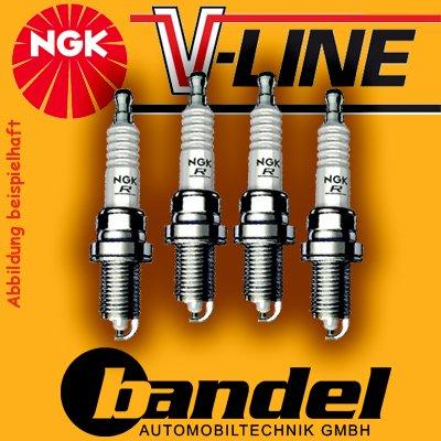 4x candela di accensione NGK a V Line 24bkur6et -10