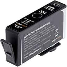 AmazonBasics HP 364 - Recambio de cartucho de tinta remanufacturado, negro
