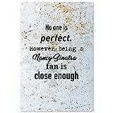 No One ist perfekt als Nancy Sinatra-Fan ist jedoch Close genug–Vintage Deko Wandschild–fertig zum Aufhänge