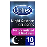 Optrex Night Repair Gel Eye Drops, 10 ml