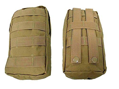 Taktische Molle Beutel Airsoft Military Jagd Erste Hilfe Utility Bag Camping Radfahren Tan