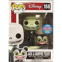 Funko - Figurine Nightmare Before Christmas - Jack With Vampire Teddy NYCC 2015 Pop 10cm - 0849803070274