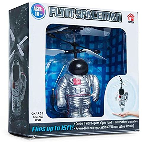 Flying Spaceman Toy Helicopters That Fly Move Flying Interactive