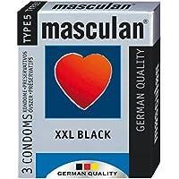 MASCULAN XXL Black 3 St. / Kondome preisvergleich bei billige-tabletten.eu