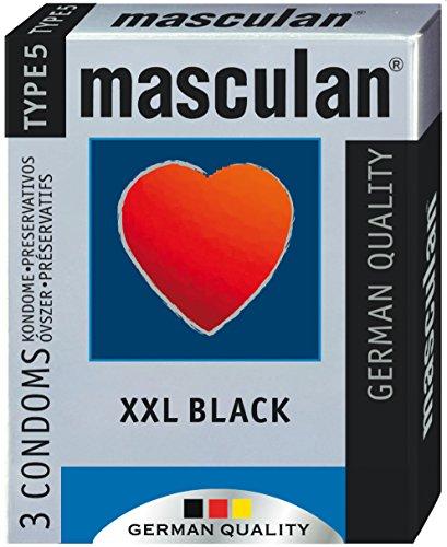 Masculan Preservativos tipo 5negro