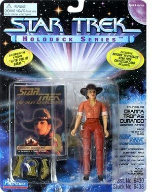 Holodeck Series (Star Trek Holodeck Series Actionfigur: Deanna Troi as Durango)