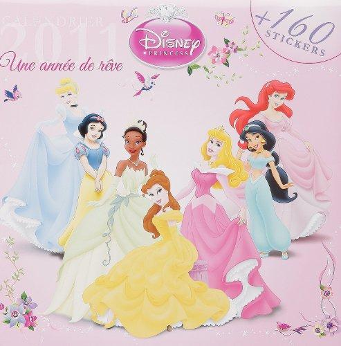 Calendrier Princesses 2011