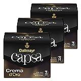 Dallmayr Capsa Crema d'Oro, Nespresso Kompatibel Kapsel, Kaffeekapsel, Röstkaffee, Kaffee, 30 Kapseln