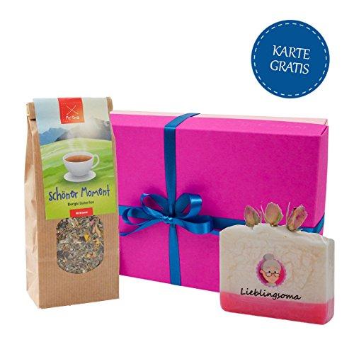 oma-geschenk-mit-handgeschopfter-seife-mit-rosenduft-krautertee-in-geschenkbox-wellness-geschenkset-
