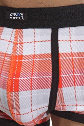 OBOY U80 Sprinterpants Orange/Weiß