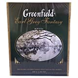 Greenfield schwarzer Tee Earl Grey Fantasy 100 Beutel Schwarztee