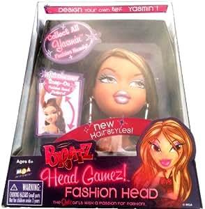 Bratz Head Gamez! Fashion Head - Design Your Own Bratz
