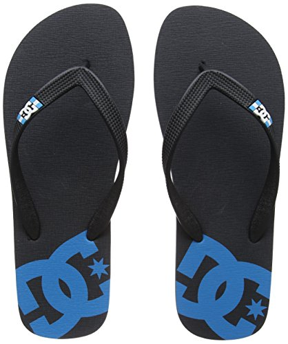 DC Shoes Herren Spray Zehentrenner, Grau (Grey/Blue/Black-Combo Xsbk), 40.5 EU (Sandalen Dc Shoes)