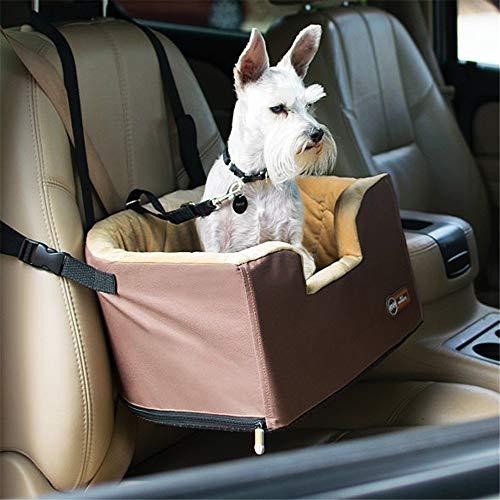 Hund Autositzbezüge Devoted Doggy Construction Haustier-Aufladungs-Sitz-Hundereise-Fördermaschinen-Taschen-Haustier-Reise-Hängematte mit Reißverschluss-Speicher-Tasche Rutschfeste Haustier Seat Protec -