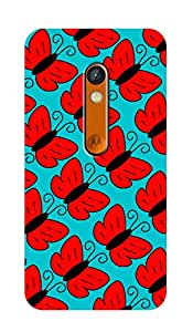 ZAPCASE Printed BACK COVER FOR MOTOROLA MOTO X PLAY