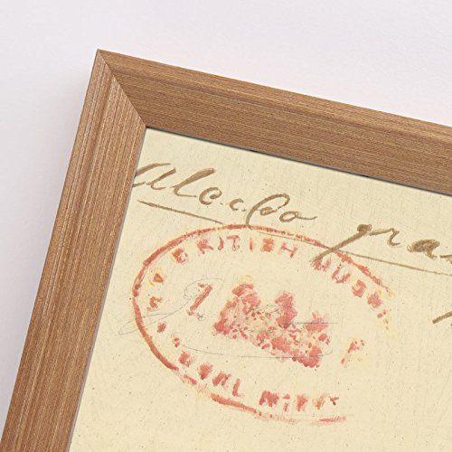SQZH solido legno cornice immagine fotogramma poster da parete photo frame-bianco nero-16.20 A3 A4,40.6*61 cm,a grana di legno color