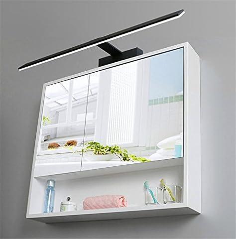 QWER Anti brouillard étanche LED - Lampe miroir toilettes salle