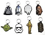 8 X Star Wars Set Yoda Darth Chubaka R2D2 C3Po Trooper Falke Schlüsselanhänger Anhänger by schenkfix