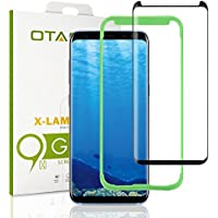 OTAO [Tray Installation] Samsung Galaxy S8 Screen Protector, [Case-friendly] Tempered Glass Screen Protector with Positioner for Galaxy S8
