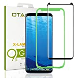 [Tray Installation]Samsung Galaxy S8 Screen Protector, Otao [Case-friendly] Tempered Glass Screen Protector with Positioner for Galaxy S8