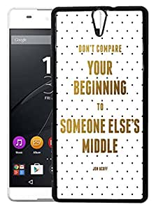 FCS Printed 2D Designer Hard Back Case For Sony Xperia C5 Ultra