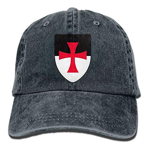 LoveBiuBiu Templar Knights Medieval Shield Unisex Adult Adjustable Baseball Dad Caps -