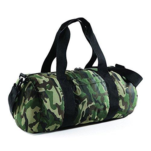 BagBase Tasche fur Reisen Tarnung Camo Reisetasche 50x25x25cm 20L Feiertags-Taschen Jungle Camo