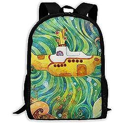 U-Boot-Farbdruck Erwachsenen Rucksack Laptop Schultern Tasche
