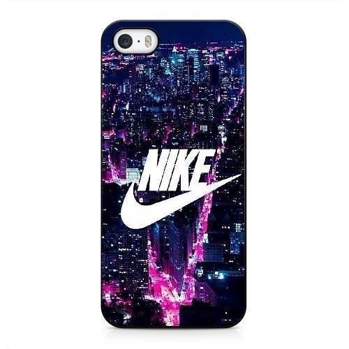 Coque pour NIKE LOGO Série iPhone 5 5s Case noir iPhone 5 5s Coque UIWEJDFGJ4740