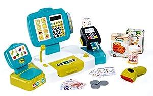 Caja registradora grande con calculadora y accesorios (Smoby 350105)