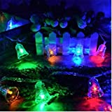 Xingyue Mythology Serie LED Luces 10m Parpadeante Linterna Campanas De Viento PequeñO Serie De La LáMpara Festival Cielo Dormitorio Decorativo Creativo Colgante Estrella De La LáMpara , color