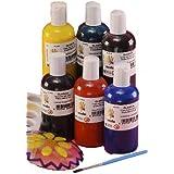 Scola GSL150/6/A - Tarros de pintura para cristal (6 x 150 ml)