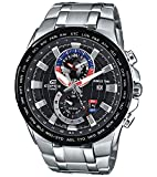 Casio Edifice Analog Black Dial Men's Watch-EFR-550D-1AVUDF (EX262)