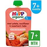 HiPP Organic Sweet Potato, Cauliflower & Sweetcorn Pouch 7 + Mths 130g
