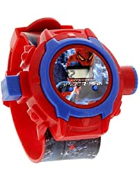 S S Traders Spiderman Digital Unique 24 Images Projector Kid's Watch
