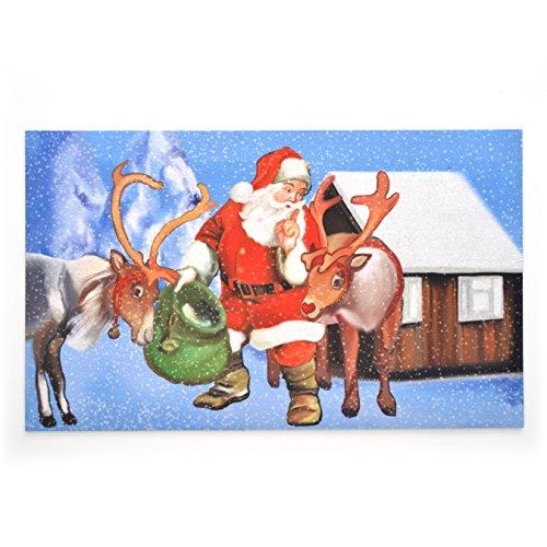 Stephan Roberts Secret Santa Gummi Fußmatte, 45,7x 76,2cm