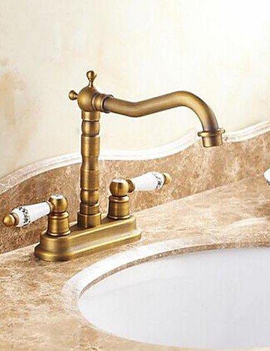 JinRou Casa di lusso rubinetti Antique 4 Inch Centerset due
