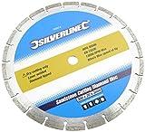Silverline 763574 - Cuchilla para sierra circular para cortar piedra (300 x 20mm)