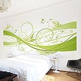 Apalis Vliestapete March Fototapete Breit | Vlies Tapete Wandtapete Wandbild Foto 3D Fototapete für Schlafzimmer Wohnzimmer Küche | grün, 94969