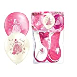 Prinzessinin Luftballons verschiedene Farben gemischt EU Ware