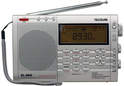 TECSUN PL-660 Kurzwellen-Radio AM/FM/LW/SW/SSB und Flugzeug (118-137 MHz)